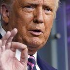 AP FACT CHECK: Trump's virus revisionism; Biden on the hoax
