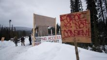 Anti-pipeline protest in Mi'kmaq community shuts down rail line in eastern Quebec