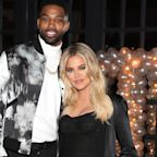 Tristan Thompson Sends Khloé Kardashian Lavish Roses as They Spend Valentine's Day Apart