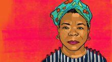 Oprah Winfrey pays tribute to her mentor Maya Angelou