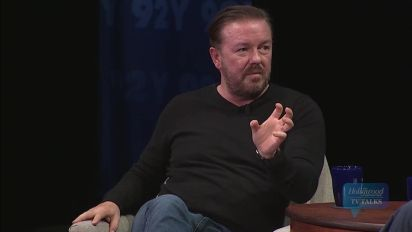 Ricky Gervais Discusses Current Events Used for His Comedy Tour