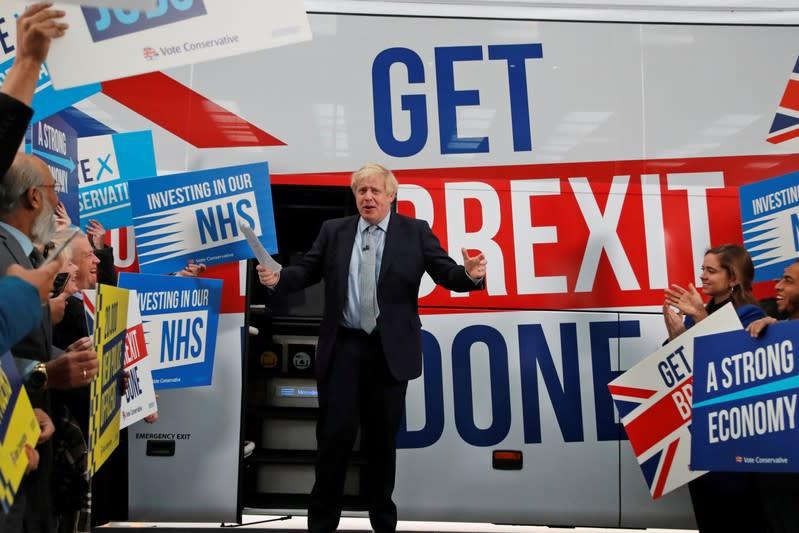 On the campaign trail - Boris Johnson's odd election rivals