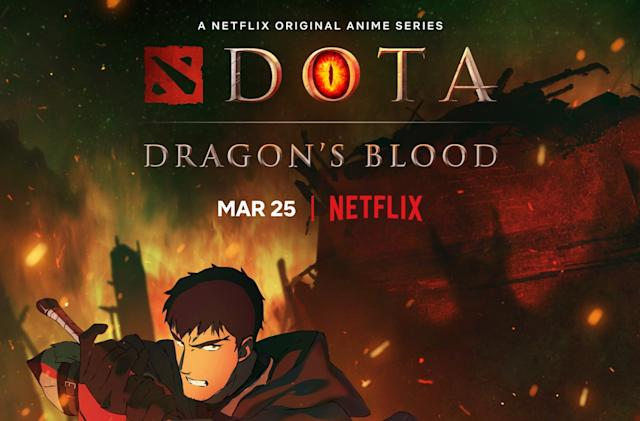 'Dota: Dragon's Blood' trailer gives a clearer view of Netflix's new anime series