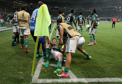 Palmeiras pode bater nesta quarta o recorde brasileiro de gols na Liberta