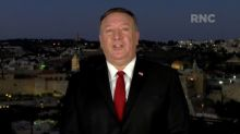 Pompeo convention speech for Trump from Jerusalem sparks criticism, investigation