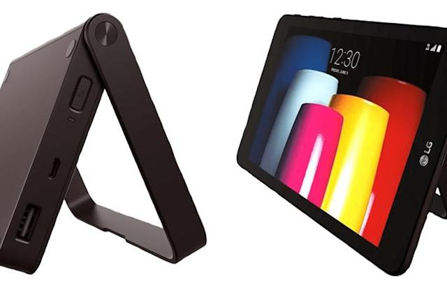 LG's middling tablet comes with a weird accessory dock