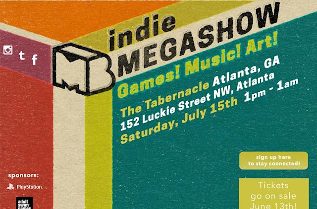 Indie games invade the art world at the Megashow festival