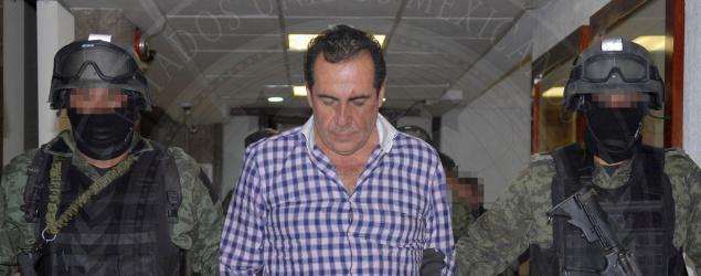 Hector Beltran Leyva after being captured in 2014. (Reuters)