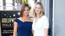 Jennifer Garner had a '13 Going on 30' reunion at her Walk of Fame ceremony