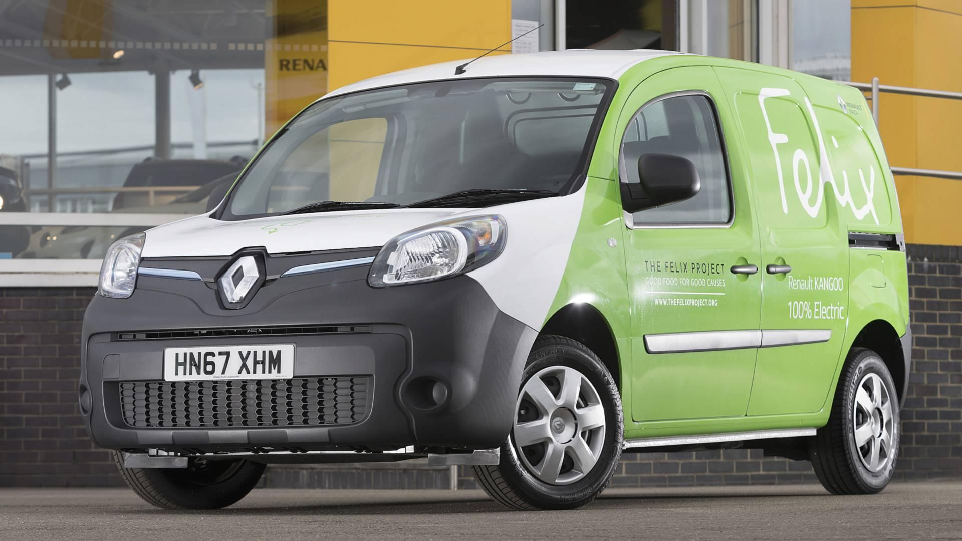 London charity goes green with new Renault electric vans