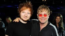 Elton John confuses Brit Awards viewers with weird pronunciation of Ed Sheeran's name