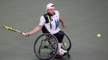 Dylan Alcott narrowly misses out on third US Open wheelchair tennis crown