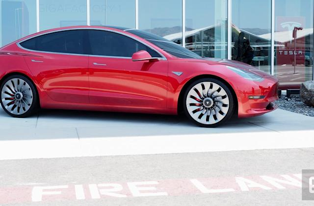 Tesla buys an engineering firm to meet Model 3 production goals