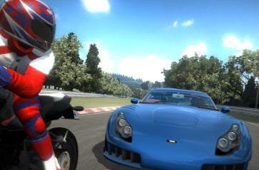 Project Gotham Racing 4 loses two wheels, gains bikes