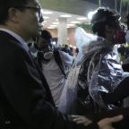 Desperate protesters in Hong Kong explore sewers in bid to escape campus