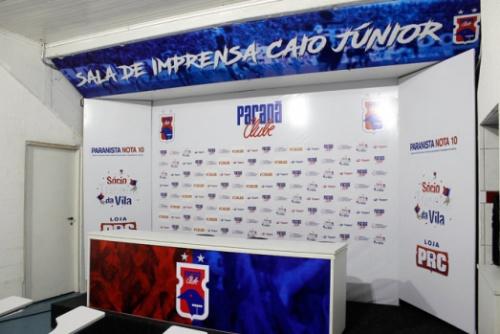 Paraná inaugura sala de imprensa em homenagem a Caio Jr.