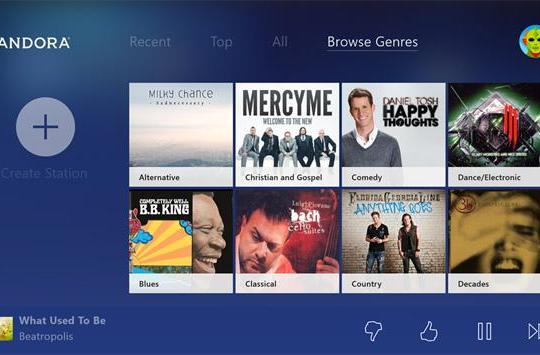 Your Xbox One now plays Pandora radio and Vevo music videos