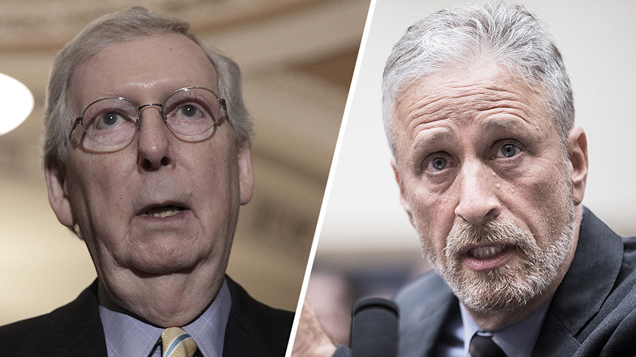McConnell questions Stewart's passionate 9/11 testimony