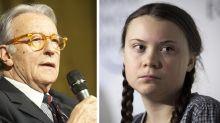 "Feltri su Greta Thunberg ""Sia felice del tepore in Svezia. Stupidina"""