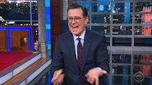 Stephen Colbert can't recover when Jeff Sessions joke falls apart