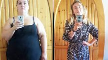 Mum unrecognisable after incredible 73kg body transformation