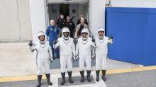 """SpaceX envoie quatre astronautes vers l'ISS lors d'un premier vol """"opérationnel"""""""