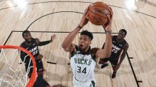 NBA campus intel: Bucks clinch East's top seed; LeBron out against Rockets