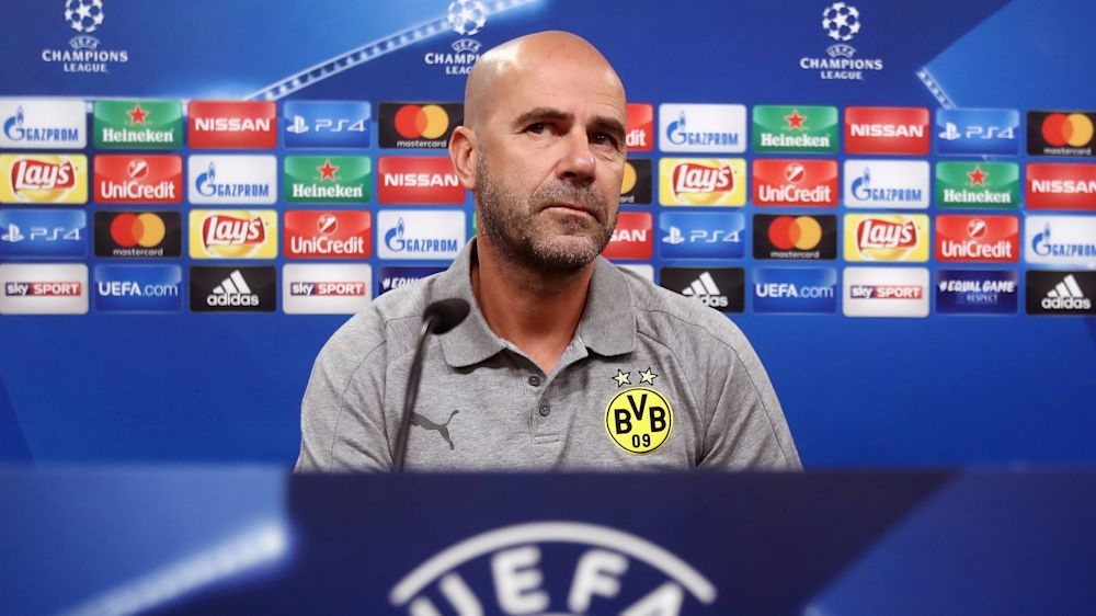 We know it's difficult now, admits Dortmund boss Bosz