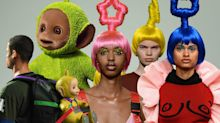 Bobby Abley turned London Fashion Week Men's into Teletubbyland
