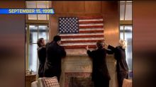 Special American flag returns to 'GMA'