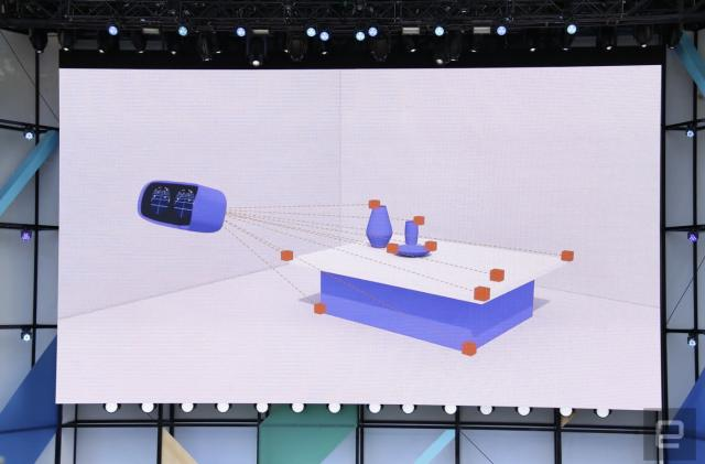We're live from the Google I/O 2017 day 2 VR and AR keynote!