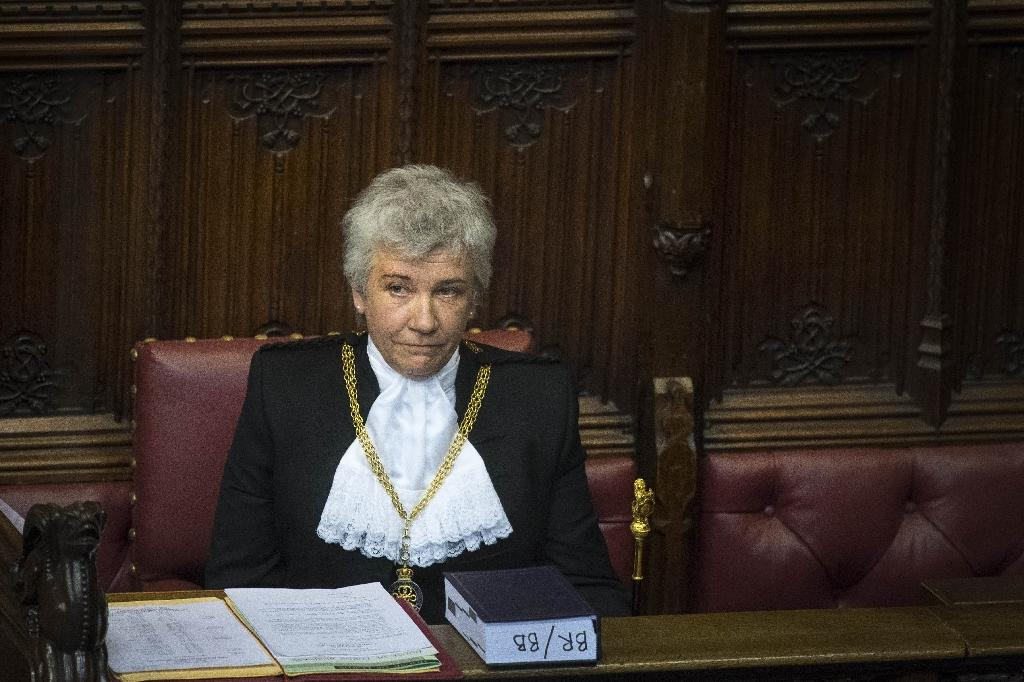 Sarah Clarke has become the first woman to hold the ceremonial and administrative position of Black Rod in Britain's House of Lords