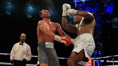 Joshua-Klitschko II 'pencilled in' for November 11 - Hearn