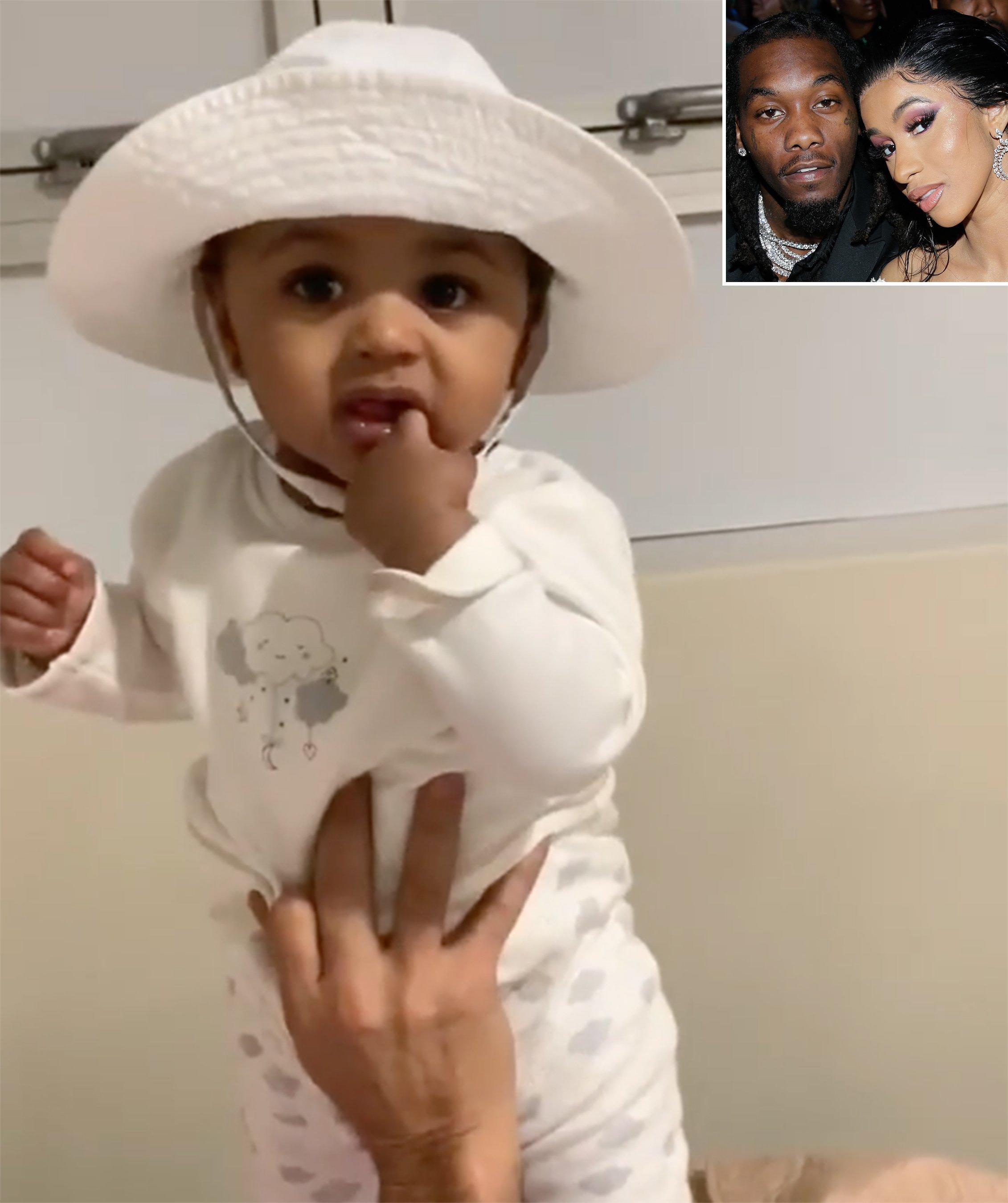 Offset Shares Sweet Video Of Daughter Kulture, 8 Months