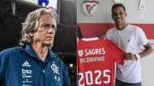 Mauro Naves diz que Jorge Jesus vai agradecer por contar com Pedrinho no Benfica; relembre treta