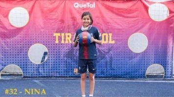 #JuegaComoNina, la niña mexicana que cautivó a la gente por una beca del Barça
