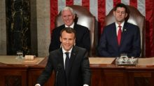 France's Macron pushes back at 'America First' agenda