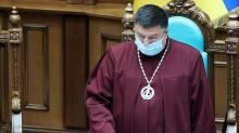 Head of Ukraine's top court notified he is suspect in witness tampering case