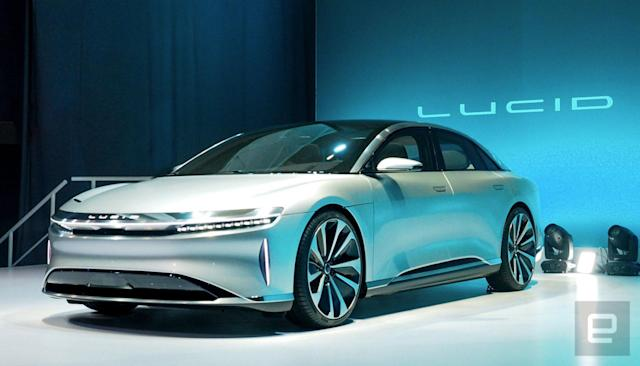 Lucid's luxury electric car will start at $52,500