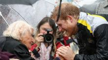 Daphne Dunne, who stole a kiss from Prince Harry, hopes to reunite