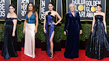 How to wear 2020's hottest colour, inspired by the stars of the Golden Globes