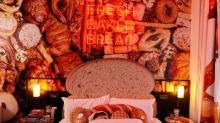"""Hotels.com Bakes Up a Carb-Lover's Paradise With the """"Bread & Breakfast"""" Suite"""