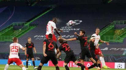 Foot - C1 - Leipzig - Dayot Upamecano (Leipzig), après la qualification contre l'Atlético: «On a fait le match qu'il fallait»