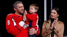 Nastya Ovechkin questions NHL's ban of players hanging out in hotel rooms