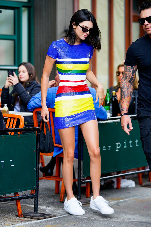 Adidas Kendall Jenner Wears Yeezy Boost 700 Wave Runner