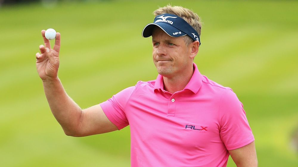 Former world No. 1 Luke Donald hospitalized with chest pain