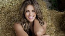 Elizabeth Hurley, 55, uses nude photo to shut down 'ridiculous' reports she's doing a reality TV show with her son