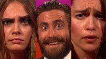 Cara Delevingne, Jake Gyllenhaal, Emilia Clarke Show Their Brow Skills