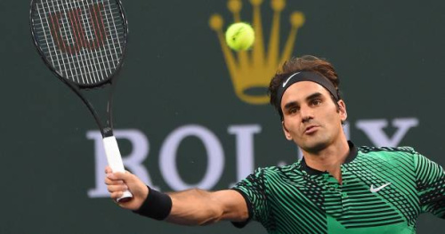 Tennis - WTF - L'amorti magique de Roger Federer contre Tomas Berdych