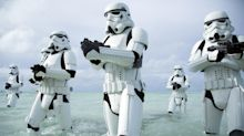 Now hiring: Disneyland stormtroopers, must be tall, slender